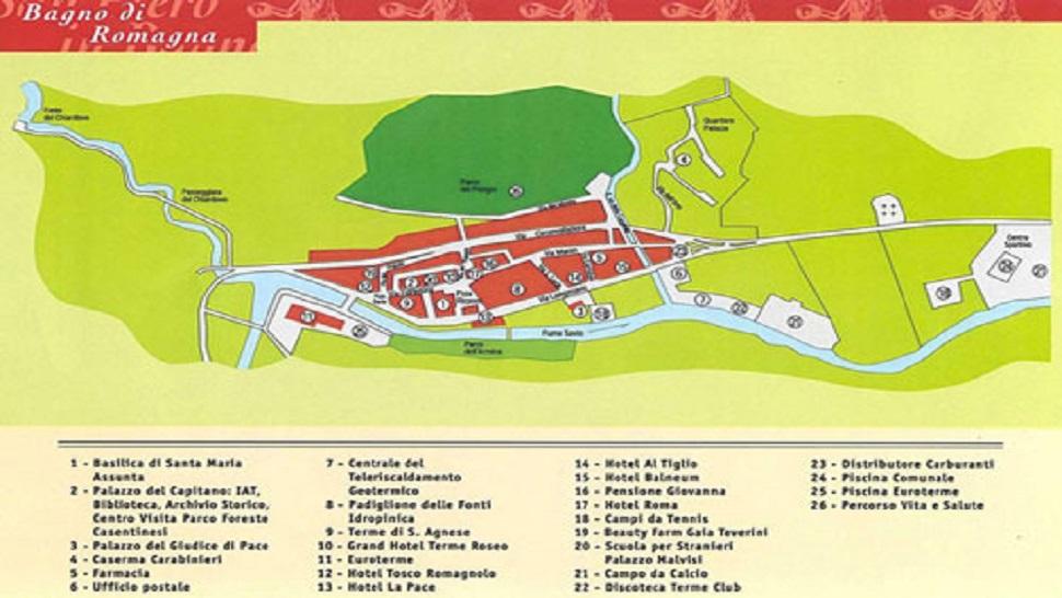 Mappe - Sito di Informazione Turistica Valle del Savio