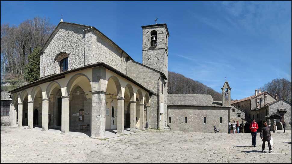 Bagno di Romagna - Santuario della Verna - itinerario_auto ...